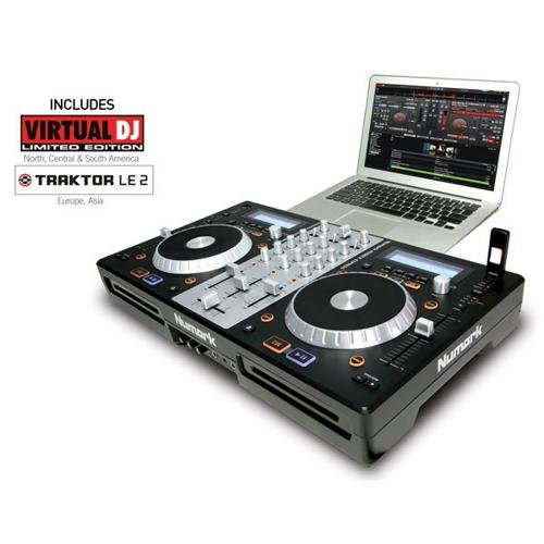 Numark MixDeck Express | Premium DJ Controller with CD & USB Playback [2011 ()