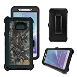 Galaxy Note 5 Case, Harsel Defender Series Heavy Duty Camouflage Tough Rugged Impact Armor Hybrid Military with Belt Clip Built-in Screen Protector Case Cover for Galaxy Note 5 (Xtra / Black)