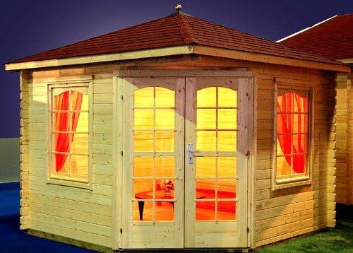 PRIKKER-Gartenhaus Jardín Casa Victoria – B40 Carpa 300 x 300 cm ...