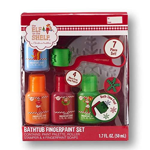 The Elf on the Shelf Fingerpaint Bathtub