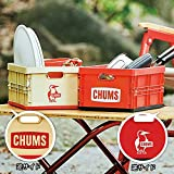 2021年12月号 CHUMS(チャムス)整理収納コンテナボックス 2個セット