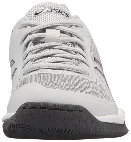 ASICS Grey Glacier Gel Volleyball Dark Shoe Womens Tactic Grey 2 Silver 7pvqr7OYw