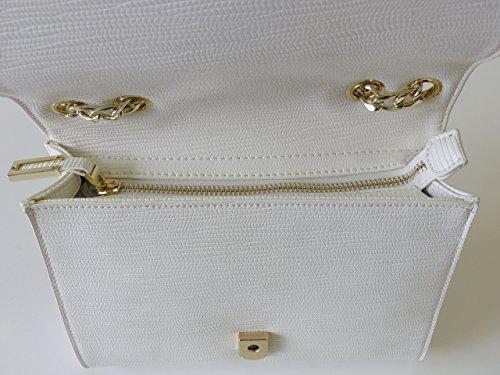 Valentino Di Mario Valentino Bag Amarillis Vbs1qv07std Bianco Borsa A Spalla Tracolla Donna Bianca (22 Cm X 18 Cm X 5 Cm)
