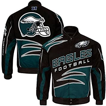 low priced f7302 ab958 Philadelphia Eagles NFL Men's Black Shred Cotton Twill ...