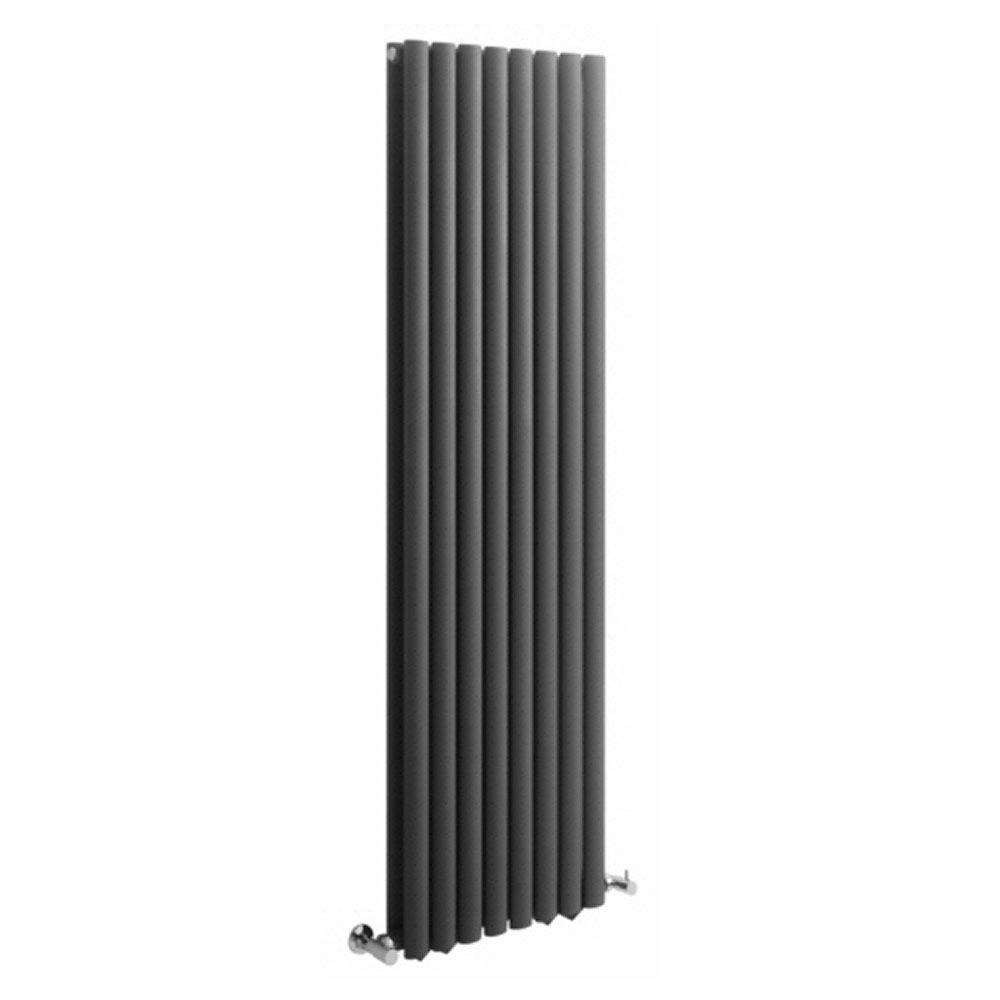 ENKI dos v/álvulas de codo para radiador toallero cil/índricas cromado