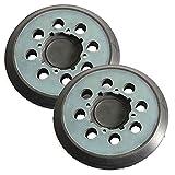 Superior Pads and Abrasives RSP54 Aftermarket 5'' Dia 8 Vacuum Holes Hook & Loop Sanding Pad Replaces Dewalt N329079 -Pack of 2