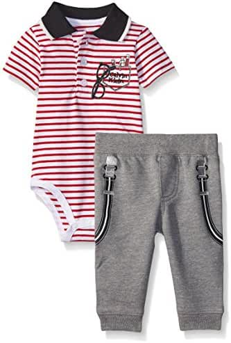 Calvin Klein Baby Boys' Bodysuit and French Terry Pants