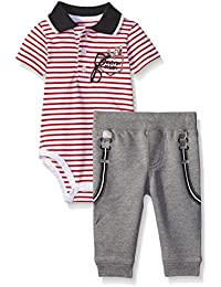 Baby Boys' Bodysuit and French Terry Pants