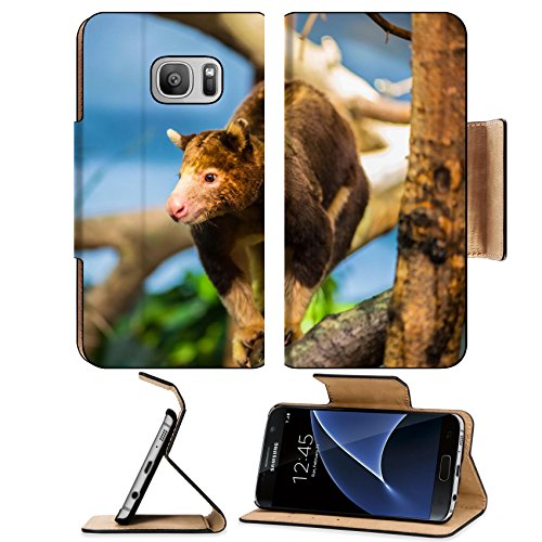 MSD Premium Samsung Galaxy S7 Flip Pu Leather Wallet Case Close up shot of a cute tree Image ID - Discount Australia Gift Cards