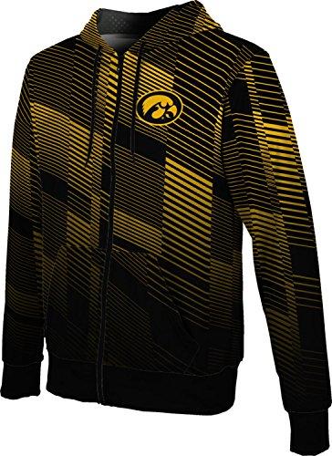 ProSphere University of Iowa Men's Full Zip Hoodie - Bold FD9B1 (X-Large) ()