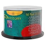 CCS72102 - Compucessory CD Rewritable Media - CD-RW - 12x - 700 MB - 50 Pack