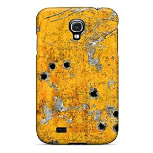 Ultra Slim Fit Hard MeSusges Case Cover Specially Made For Galaxy S4- Textures Hd