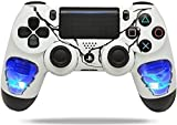 "Cheap ""Skulls Blue"" PS4 PRO Rapid Fire Custom Modded Controller 40 Mods for All Major Shooter Games, Auto Aim, Quick Scope Sniper Breath & More (CUH-ZCT2U)"