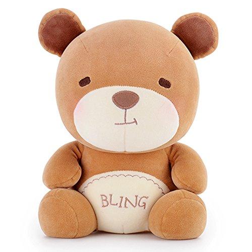Me Too Qtuanr Series Cartoon Stuffed Bear Dolls Baby Plush Toys Birthday Gifts 7.5''