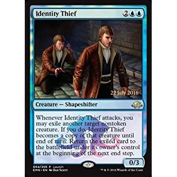 Magic the Gathering MTG Identity Thief Launch Promo FOIL