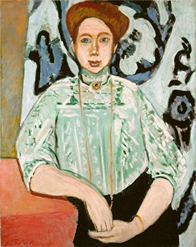 'Greta Moll 1908 By Henri Matisse' Oil Painting, 18x23 Inch / 46x57 Cm ,printed On Polyster Canvas ,this Beautiful Art Decorative Canvas Prints Is Perfectly Suitalbe For Study Gallery Art And Home Decor And Gifts (Molls Outfit)