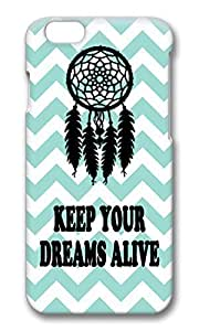 New Style Awesome Keep Your Dreams Alive Aqua Chevron Hard Protective Shell Cell PhoneDiy For SamSung Galaxy S5 Mini Case Cover PC 3D
