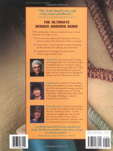 the ultimate serger answer guide troubleshooting for any overlock rh amazon com the ultimate serger answer guide pdf Pic Art of the Number 42