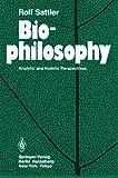 Biophilosophy, Sattler, R., 3540164189