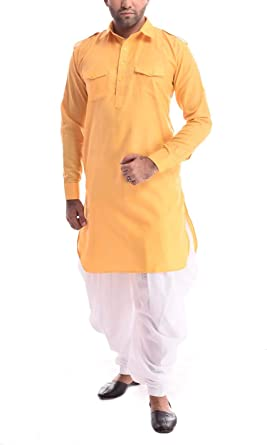 Royal Varomhey Mens Linen Cotton Pathani Suit