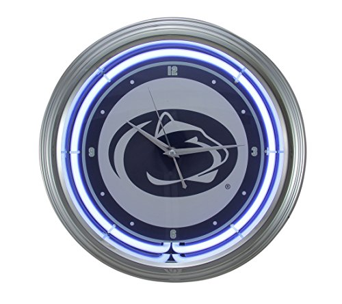 Ncaa College Neon Clock - Penn State 15