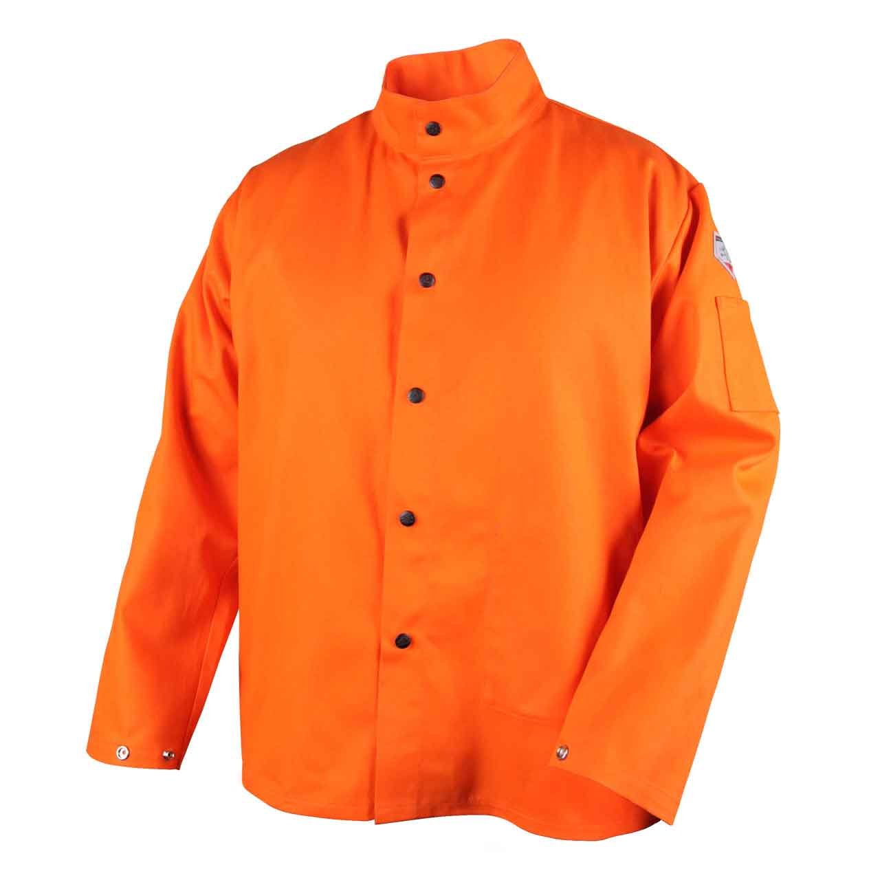 Revco FO9-30C-XL Flame Resistant Cotton Welding Jacket, X-Large