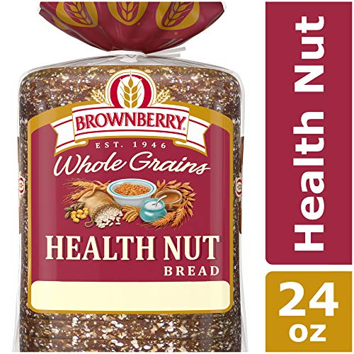Brownberry Whole Grains Health Nut Bread, Taste the Real Nuts and Seeds, 24 ()