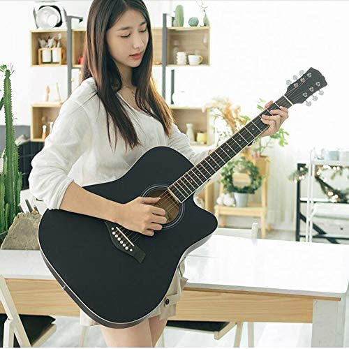BAIYING-Guitarra Acústica Balada Guitarra De Madera Rock Adulto ...