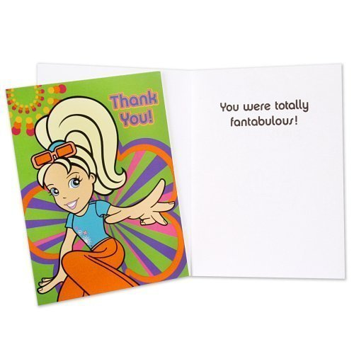 Polly Pocket Thank You Notes 8ct by Party America by HALLMARK MARKETING CORPORATION (Image #1)