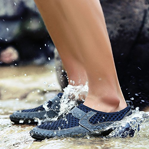 Pedales De Onda Malla De Guisantes Casual ALIKEEYHombres Zapatos Vaga Azul Transpirable Deportivos De Zapatos Zapatos n4Bvzqvx7