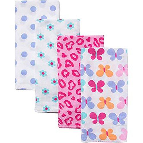 Gerber Prefold Diaper Cloths Floral