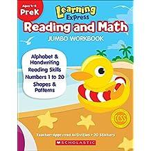 Learning Express Reading and Math Jumbo Workbook PreK