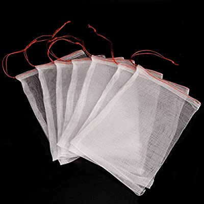 KINGLAKE® Insects Mosquito Bug Net Barrier Bag Garden Plant Fruit Flower Protect Bag Garden Netting Bag For Protecting Your Plant Fruits Flower