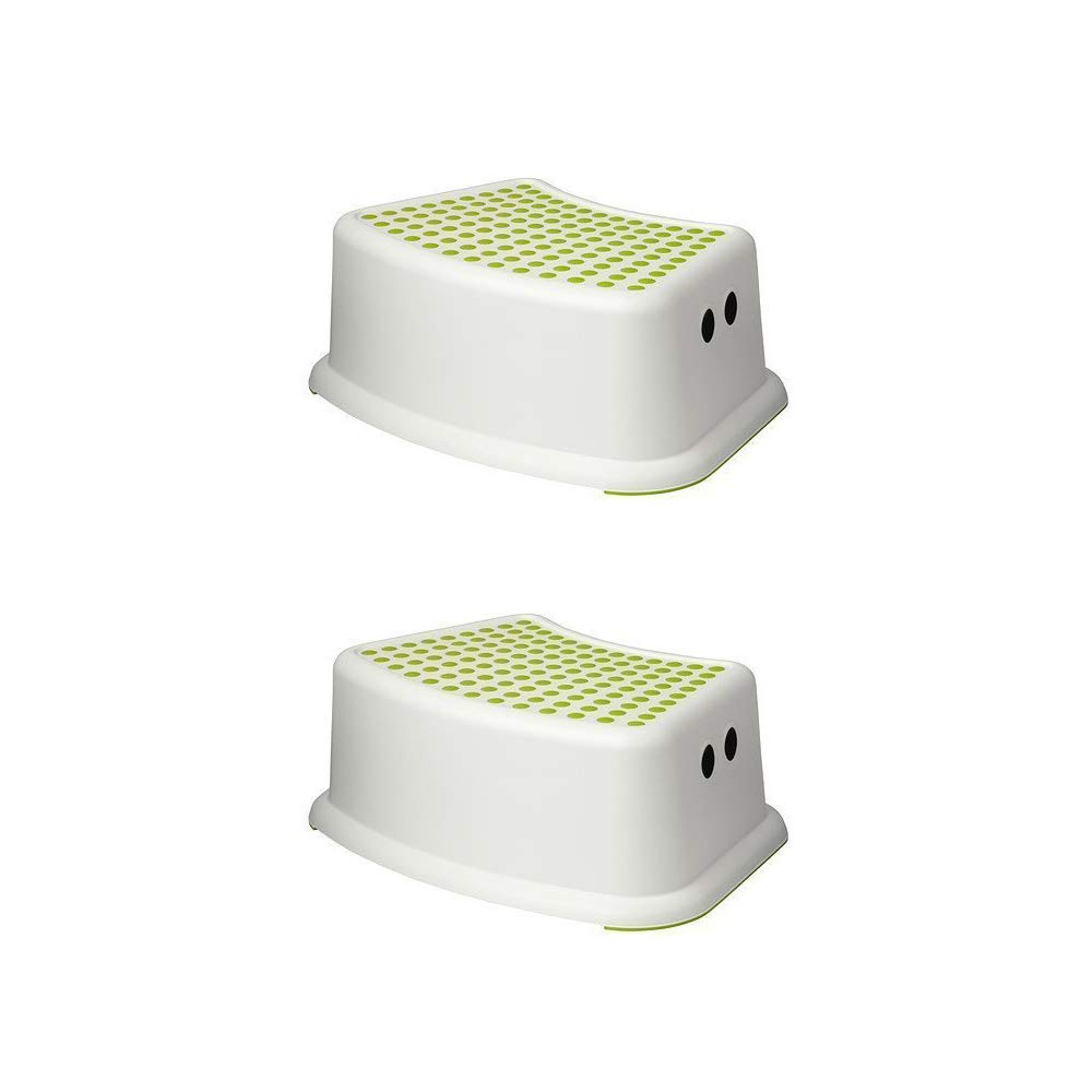 Pleasing Ikea Step Stool Green White Childrens 2 Pack Bralicious Painted Fabric Chair Ideas Braliciousco