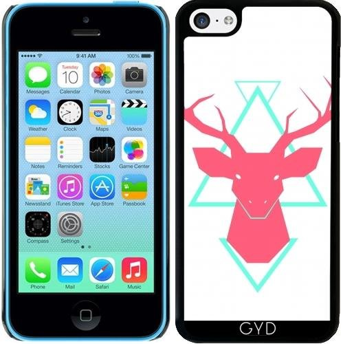 Coque pour Iphone 5c - Cerf by adovemore