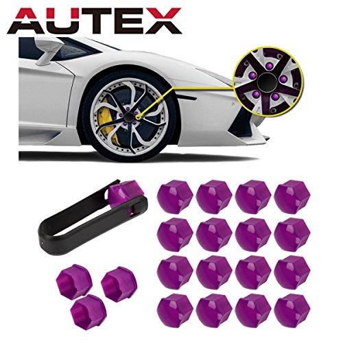- AUTEX 20pcs Purple Wheel Lug Nut Center Cover Cap + Removal Tool for 2013-2015 Toyota Avalon 2012-2015 Camry 2011-2015 Corolla Sienna 2014-2015 Highlander 2012-2013 Matrix