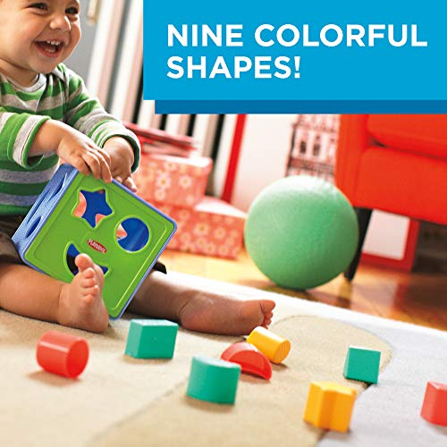 51Uqen E7aL - Playskool Form Fitter, Shape Sorter, Ages 18 Months & Up (Amazon Exclusive)