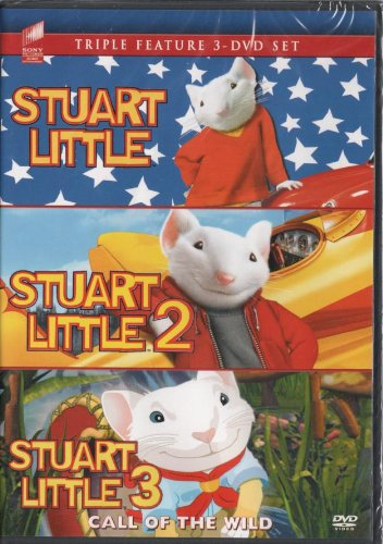 Amazon Com The Stuart Little Triple Feature Stuart Little Stuart Little 2 Stuart Little 3 Geena Davis Hugh Laurie Jonathan Lipnicki Movies Tv