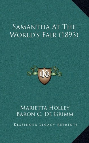 Read Online Samantha At The World's Fair (1893) pdf