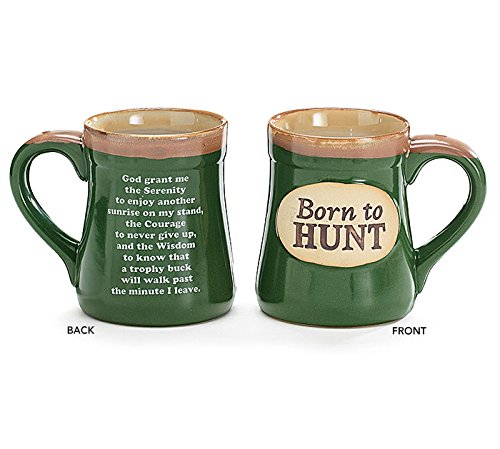 1 X Born to Hunt Coffee Mug in Gift Box
