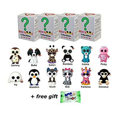 TY Mini Boos Set of 4 Hand Painted Collectible Figurines Blind Box (free gift with purchase)