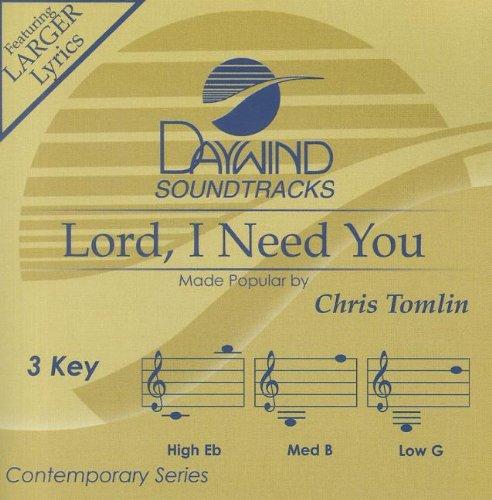 Lord, I Need You [Accompaniment/Performance Track]