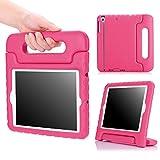 iPad Mini 1 / 2 / 3 Case, MoKo Kids Shock Proof Handle Light Weight Protective Stand Cover for iPad Mini 1 (2012), iPad Mini 2 (2013), iPad Mini 3 (2014), MAGENTA (Not fit iPad Mini 4)