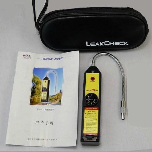 D/étecteur De Fuite De R/éfrig/érant CFC HFC De Gaz Halog/ène R134a R4aa R22a Hvac Checker Portable Testeur
