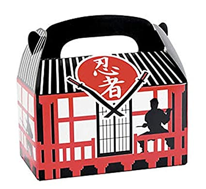 Amazon.com: (TWO DOZENS) Ninja Warrior Treat Boxes ~: Toys ...
