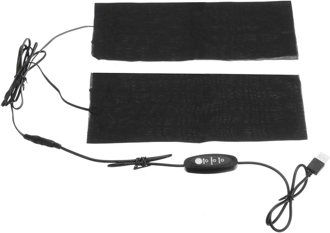 CALALEIE 9W 3 Gear Modo termostato USB Calentadores el/éctricos Calentadores T/érmicos Rodilla con calefacci/ón Lavable Piezas de decoraci/ón de motos nuevas