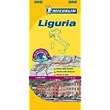 Liguria - Michelin Local Map 352 (Michelin Local Maps)