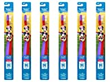 Beauty : Oral-B Pro-Health Stages My Friends Manual Kid's Toothbrush,(Pack of 6), Packaging May Vary - Cars or Minnie Mouse, etc.