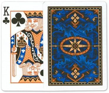 Bicicleta Azul Dragón Tarjetas de juego: 12 barajas de poker de ...