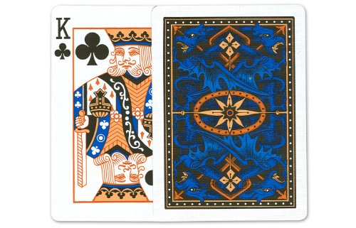 Bicycle Blue Dragon Playing Cards: 12 Decks of Bicycle Poker Size Blue Dragon Back Playing Cards by U.S.P.C.